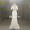 Size Available Half Sleeve Tulle Lace Applique White Wedding Dress Princess Bridal