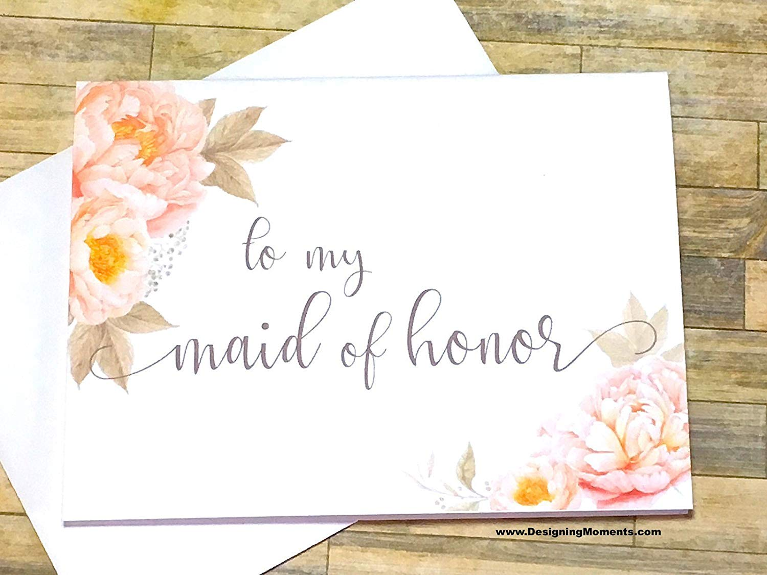Zuo Bao Maid of Honor Gift Today My Maid of Honor Forever My Best Friend Maid of Honor Proposal Gift