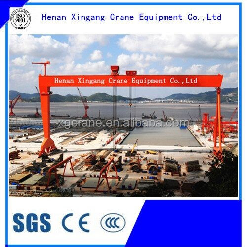 High quality and cheap price single beam door crane 32ton used for port