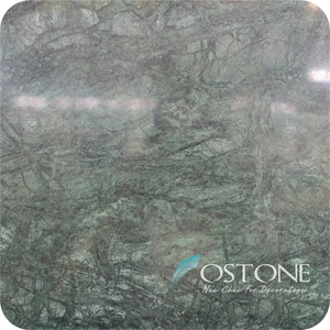 Factory Direct Selling Non-slip Chinese Dark Green Marble Tiles