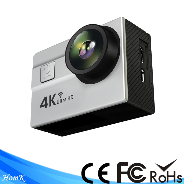 waterproof sports cam full hd 1080p wifi x5 xiaomi yi 4k sports action camera/go pro camera dv h.264 for fpv