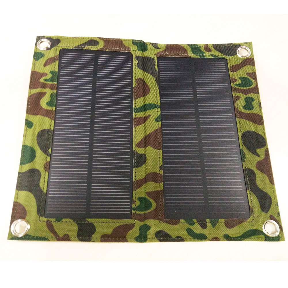 Convenient and Cheap Wholesale 7W (Output 5.5V) Foldable Solar Panel Charger Package