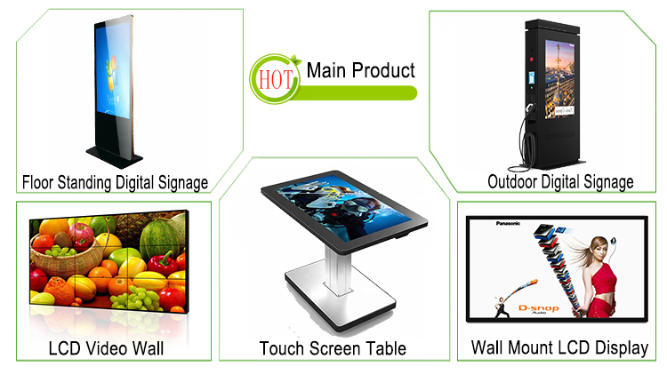 45 Inch Touch Screen Magic Mirror Digital Signage With Motion Sensor