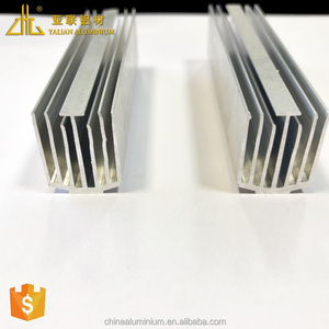 Hot selling 6063 series aluminum heatsink extrusion profile for Bitcoin mining machine