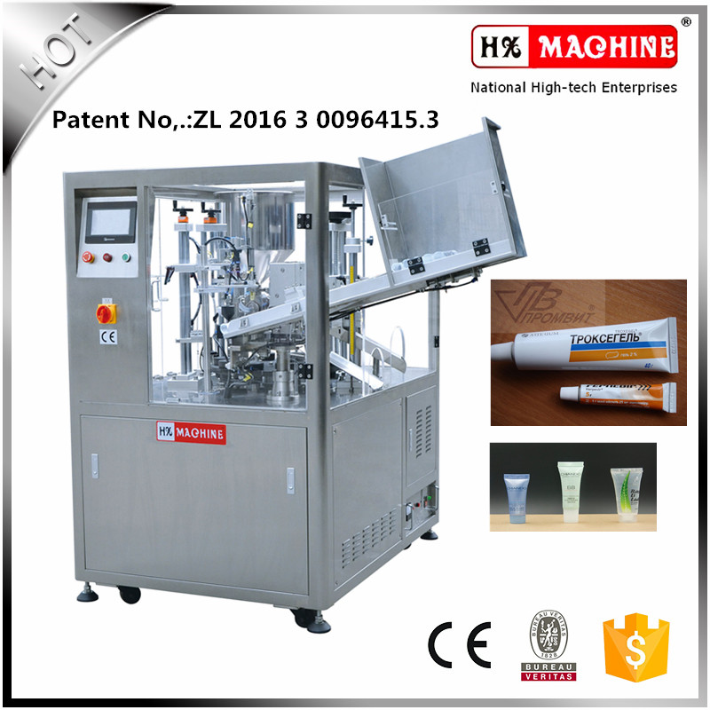 Povidone Iodine Ointment Tube Filling And Sealing Machine