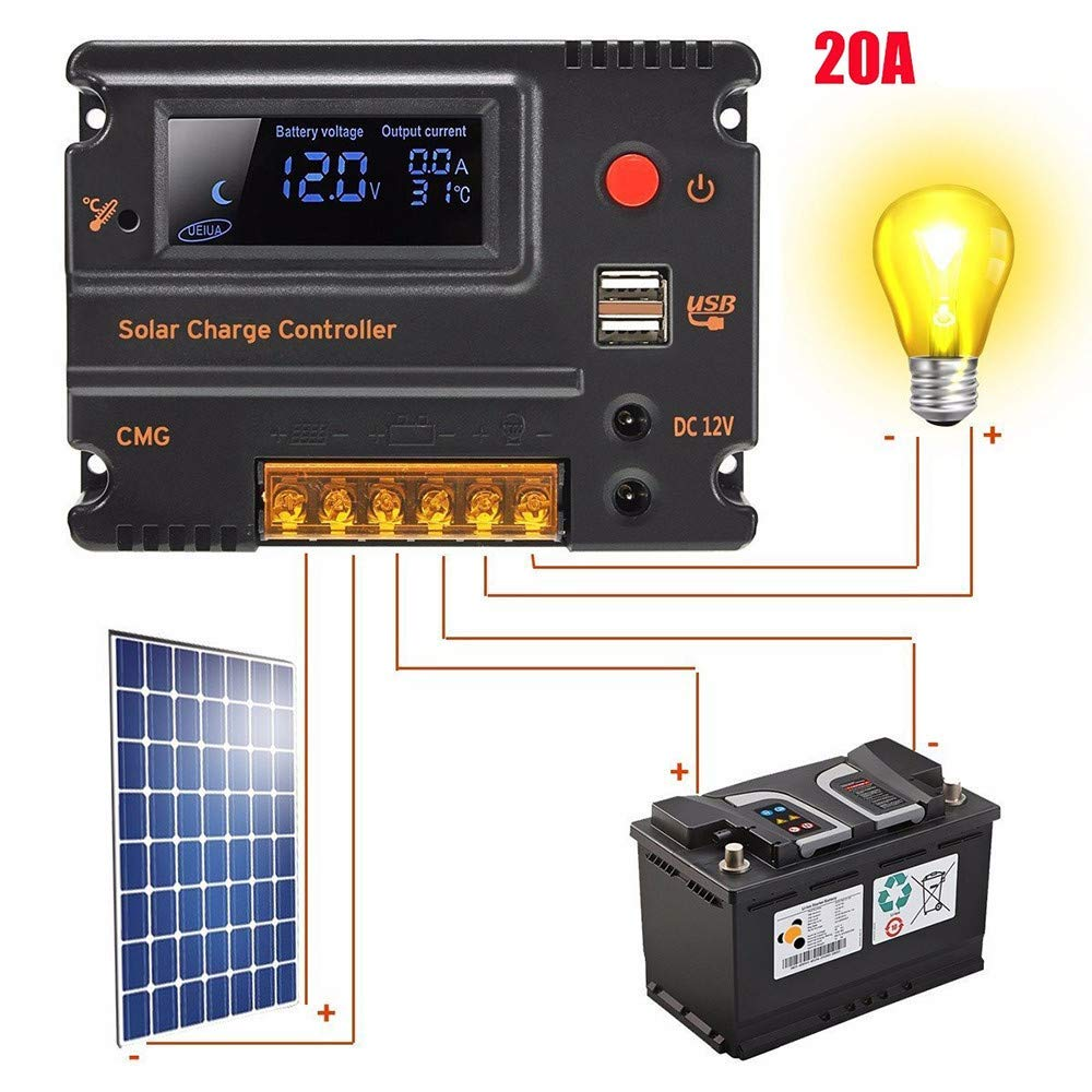 Cheap Pwm Circuit Diagram Find Deals On Line At Radio Receiver Get Quotations Ddlbiz Clearance Lcd Display Solar Panel Regulator Overload Short Protection 10a 20a