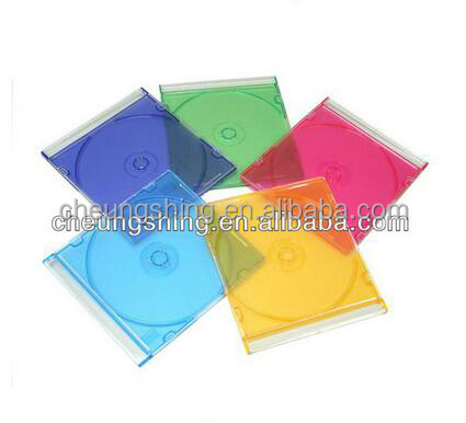 Factory wholesale high quality RoHS ISO certified CD DVD case