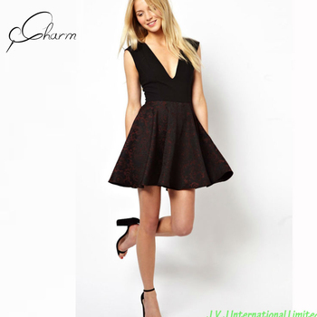 4e84ab4b0a8c Beautiful Style Black Party Dress For Fat Girls - Buy Black Party ...