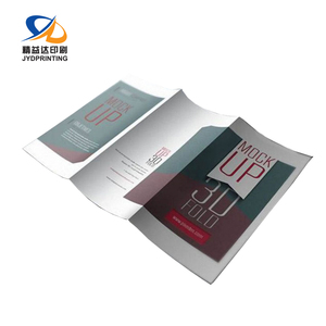 Manufacture Paper Flyer Printing Brochure Custom Waterproof Luxury Tri-Fold Matte Laminate Brochure Printing