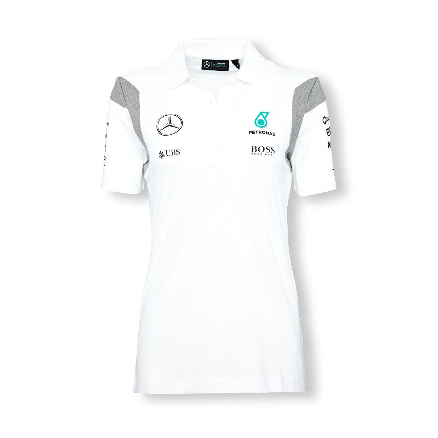 d7f94b3f2 Get Quotations · Mercedes AMG Petronas Polo Shirt Womens 2016 Replica