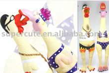 small Shrilling Couples Chicken toy