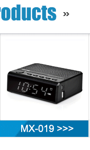 gold supplier6-12 hours led clocksmall speakers