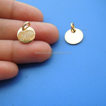 2e8399e1ac96d Wholesale Custom Logo Engrave Metal Tag Charms,Personalized Letter Word  Phrase Tags,Company Brand Logo Promotion Charm Jewelry - Buy Custom  Engraved ...