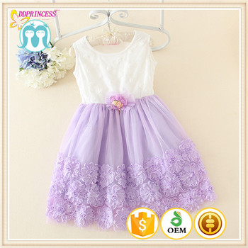 One Piece Boutique Quality Baby Girl Hand Embroidery Designs For