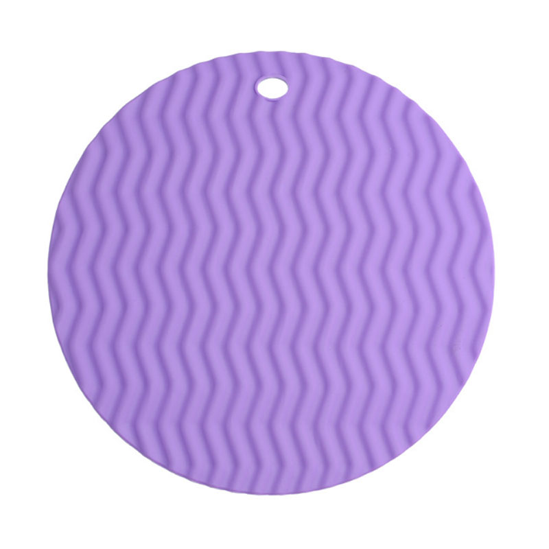 Cooling pad wave durable trivet silicone hot pad