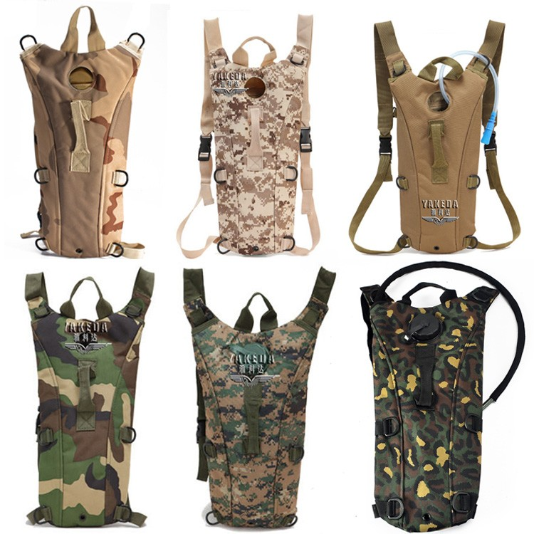 4d38327dc59 Yakeda custom Military backpack Water Pack Hiking hydration pack with water  bladder