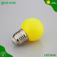 Multicolor E27 3w Energy Saving White Red Blue Green Yellow Orange Pink Lamp Bulb led Decorative Lighting