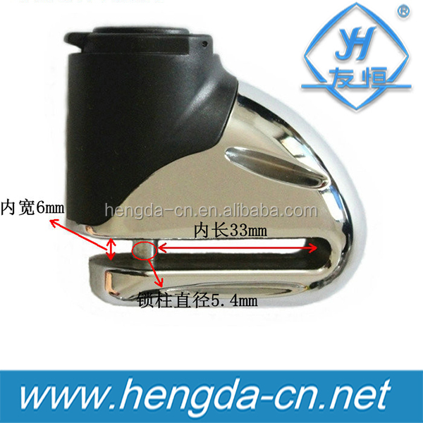 YH9203 the good quality motorcycle Disk lock / gear lock /wheel lock