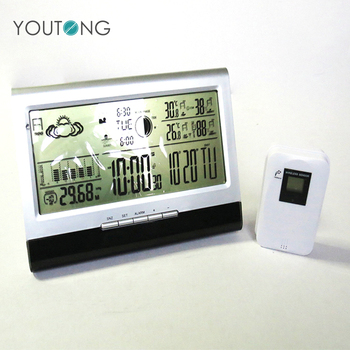 YT6002 Automatic Humidity 433Mhz Wireless Home Digital Weather Station With Outdoor Sensor