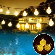 Hotsell Product 100 LED Colored Solar String Light outdoor Garden decoration light for party