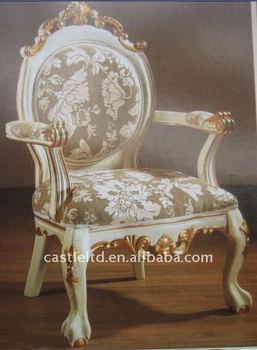 Enjoyable Antique Ivory Arm Chair Solid Wood Carved Uphosteled Back And Seat Accent Arm Chair View Antique Arm Chairs Castle Furniture Product Details From Ncnpc Chair Design For Home Ncnpcorg