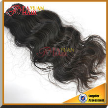 5a grade 100% natural wave human bundles peruvian virgin hair