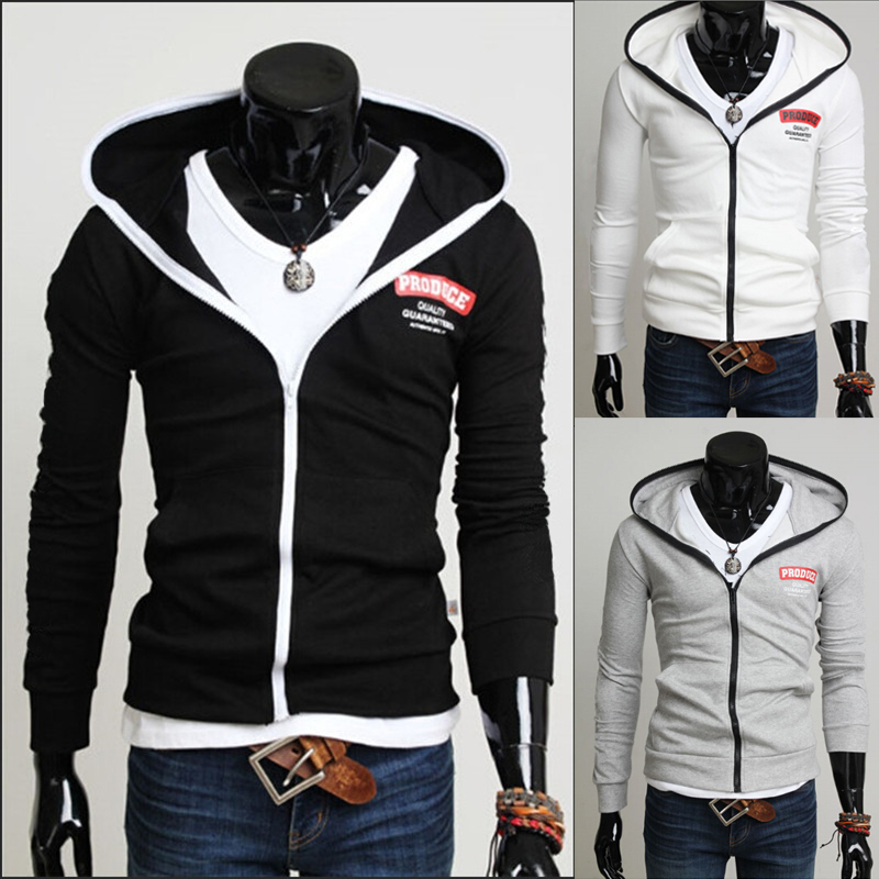 Cool zipper hoodies