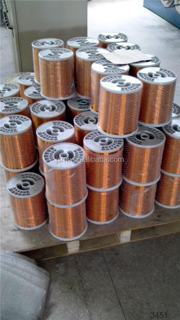enameled wire ECCA square magnet wire copper clad aluminum wire