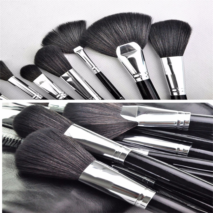 Custom Logo Make Up Brushes Free Samples White Maquillaje