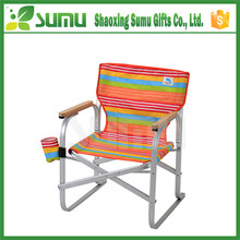Finely processed metal folding chair