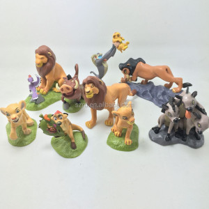 High Quality 9pcs Simba lion King figure/lion king anime figures/lion King pvc figures