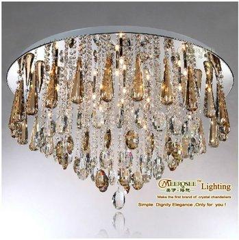 Meerosee Crystal Hanging Bead Ceiling Lights By Meerosee Lighting ...