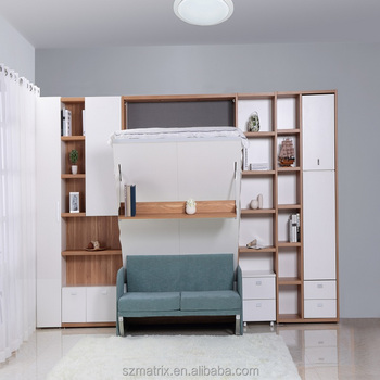 Hidden Wall Bed, Folding Wall Bed, King Bed Wall Unit
