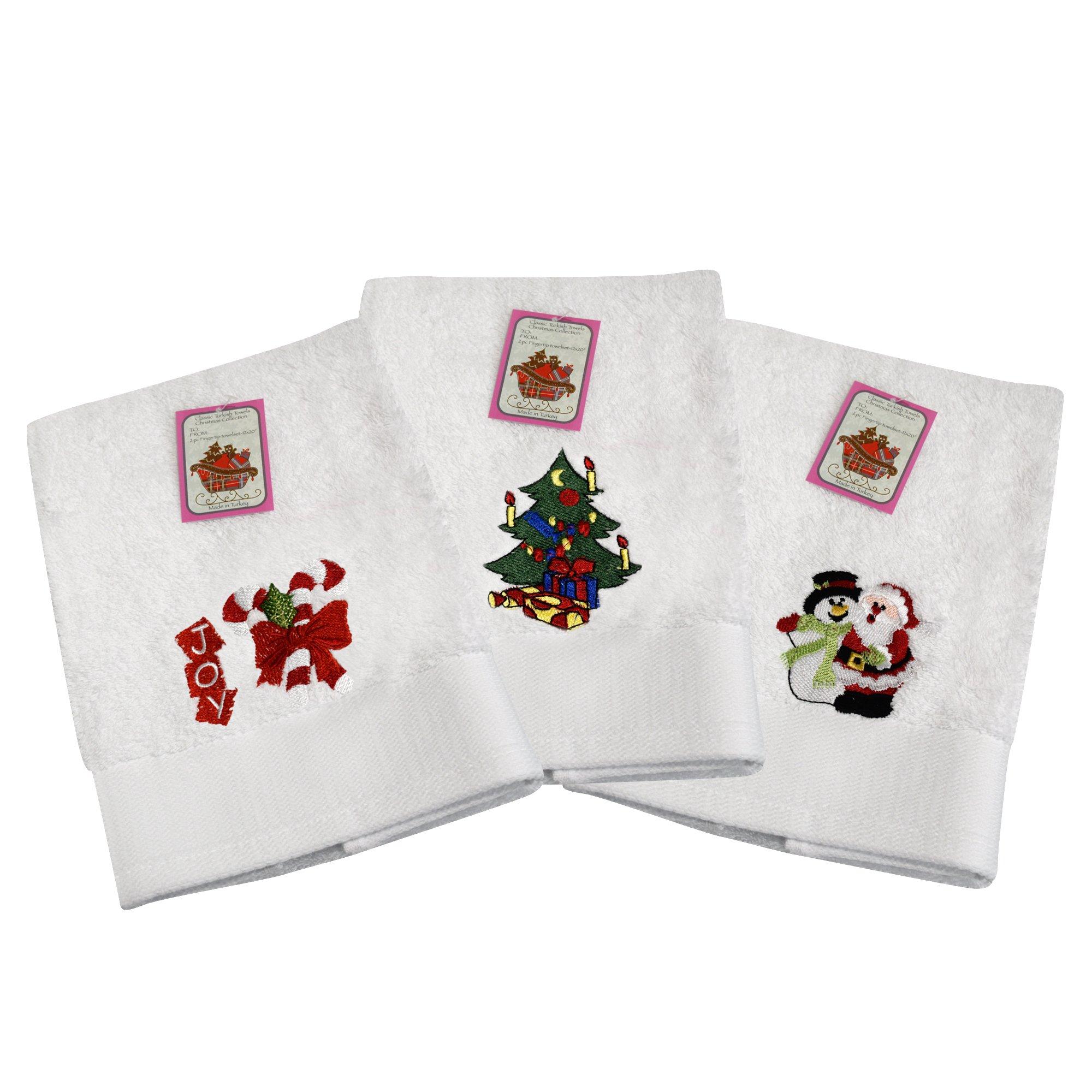 Buy Decorative Luxury Hand Towel Set - 3 piece Christmas Gift Set ...