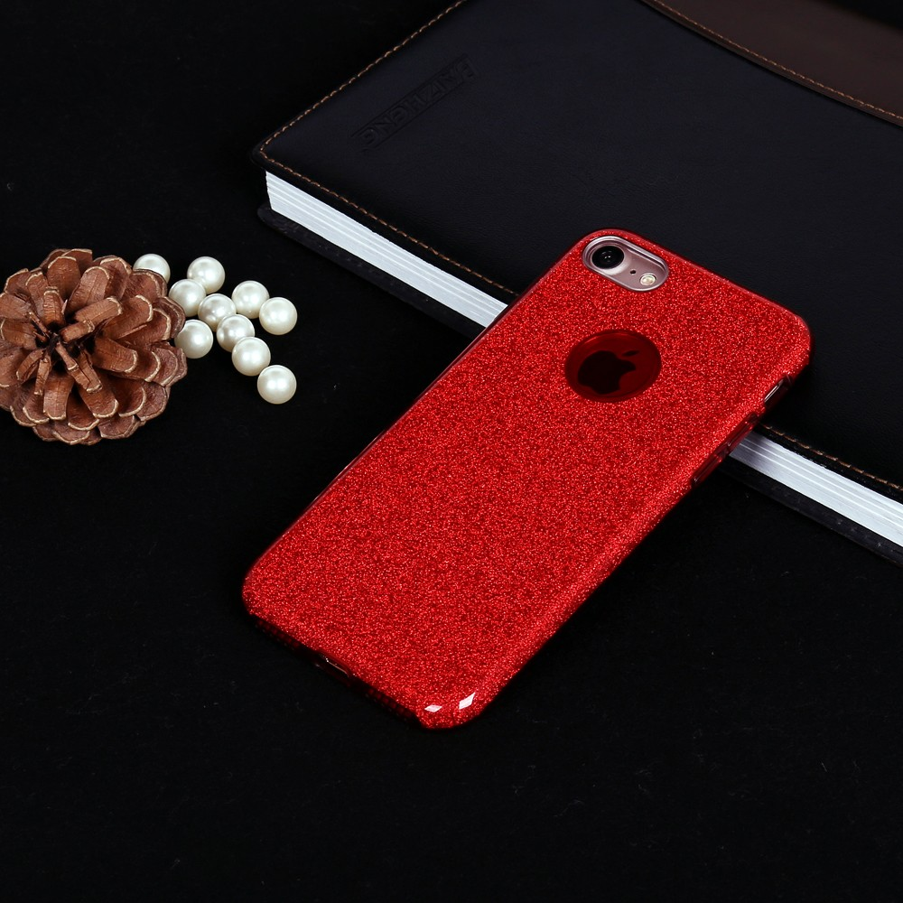 Dual Layer Sparkly Glitter Tpu Jelly Case Cover For Oppo F73 In 1 Phone
