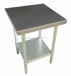 hot selling stainless steel metal heavy duty work table