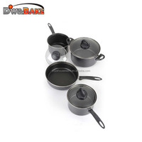 high quality carbon steel non stick cookware pan sets frying pan kitchen cookware pot and pan