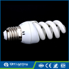Super low price high power half spiral 20w e27 bulb led cfl
