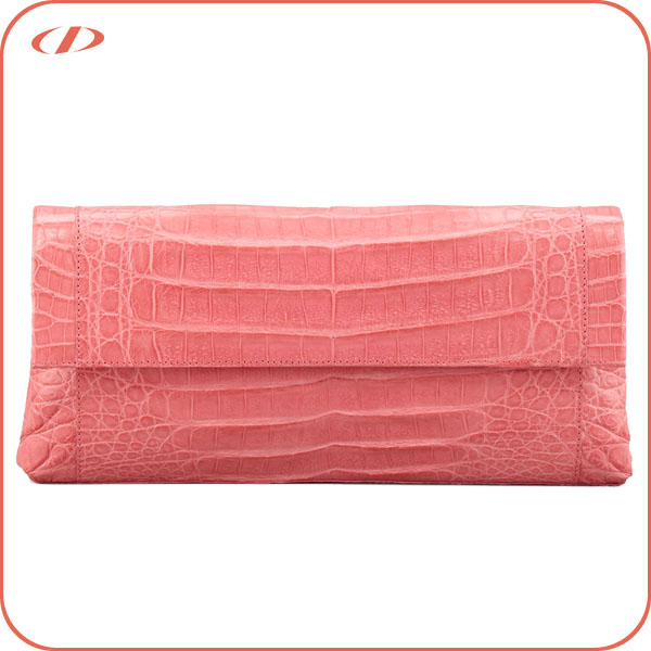 Designer genuine crocodile leather wholesale evening bags
