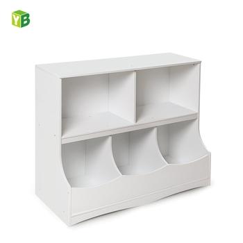 Cubby Wooden Mdf Kid Toy Storage Cabinet For Kids Furniture Storage