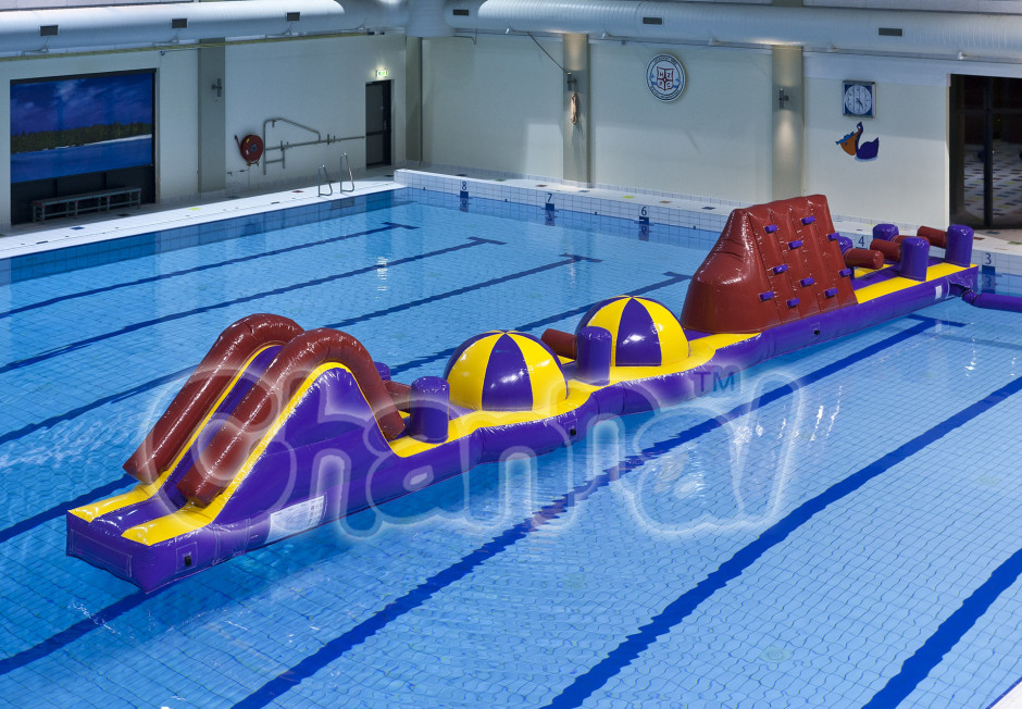 Inflatable Water Obstacle Course Images Galleries With A Bite