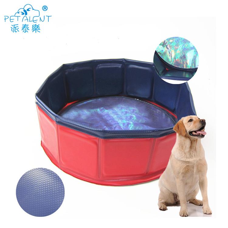 Dobrável pet Forte piscina, piscina cão, cão portátil banheira
