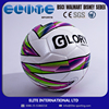 ELITE-wholesale pu leather laminated training euro soccer ball rubber football