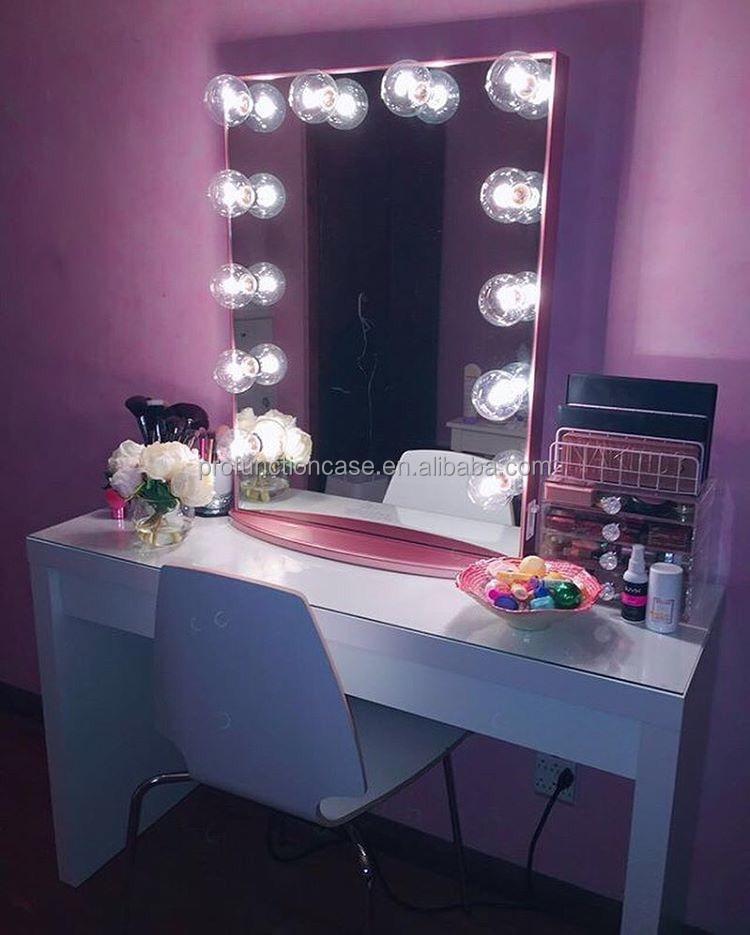 2016 best usa illuminato vanity specchio con led lampadine australiano specchio per il trucco - Specchio per trucco illuminato ...