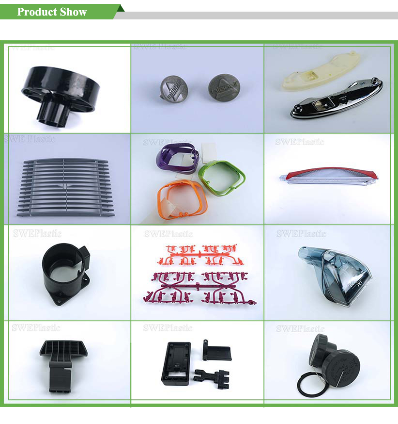 All Kinds Of Plastic Products For exhaust fan impeller Parts