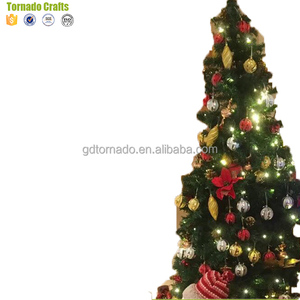 Best Artificial (TM) 6ft Premium Real Feel Hinged Christmas Tree with 100% Spruce PVC Tips for Indoor Xmas