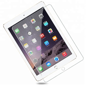 0.4MM 2D Tempered Glass Screen Cover For Apple iPad 9.7 2018 Screen Protector