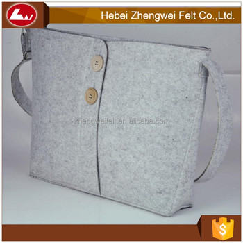 Light Weight Many Types Felt Handbag Wool Bags