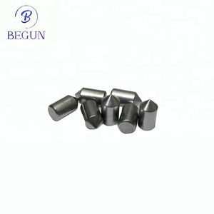 YG8/K20 tungsten carbide live center tips, carbide brazed tool tips for lathe dead centers