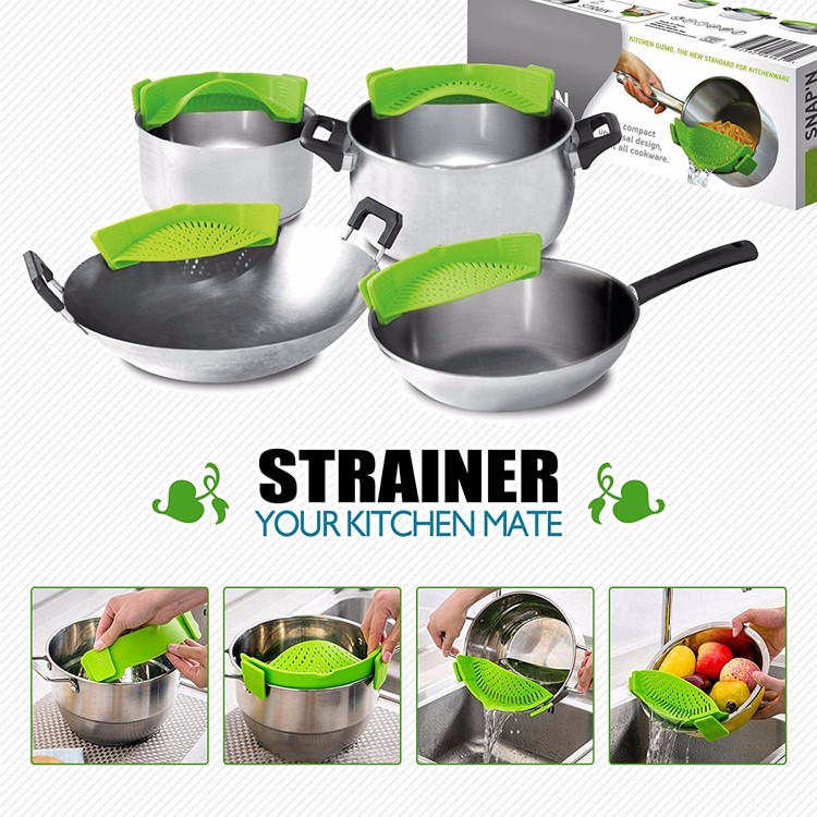 New Kitchen Products new kitchen products silicone pot strainer kitchen gadget rice